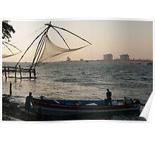 Chinese Fishing Nets Poster