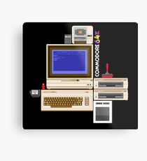 Hail the Commodore 64 Metal Print