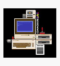 Hail the Commodore 64 Photographic Print