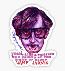 Vamp Jarvis Sticker