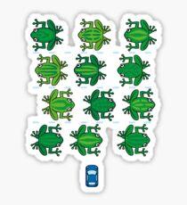 Revenge of the Frogs Sticker