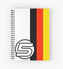 Vettel Spiral Notebook