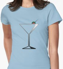 Martini 2 Womens Fitted T-Shirt
