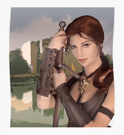 Princess Warrior Poster
