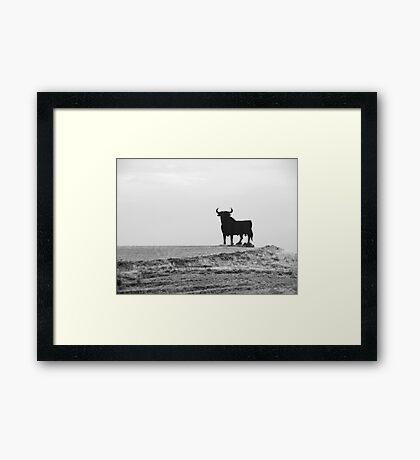 Black & Alright #1 Framed Print