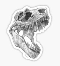 T-rex skull Sticker