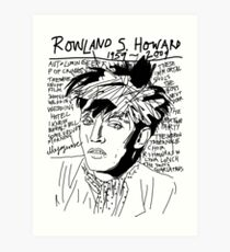 Rowland S. Howard Tribute Art Print