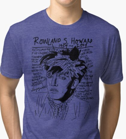 Rowland S. Howard Tribute Tri-blend T-Shirt