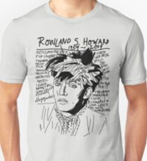 Rowland S. Howard Tribute Unisex T-Shirt