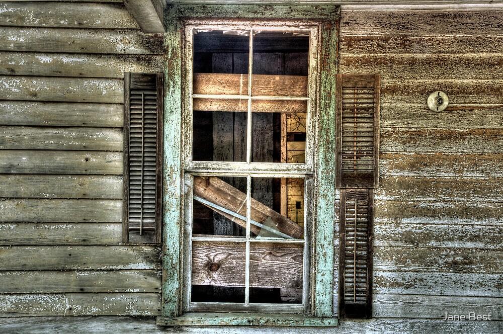 Old Shutters by Jane Best