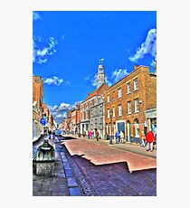 Rochester High  Street (HDR) Photographic Print