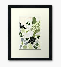 Cactus Spell Part Two Framed Print