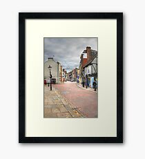 In the Footsteps of Charles Dickens  Framed Print