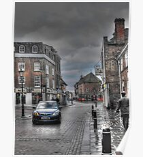 Rochester in the rain  Poster