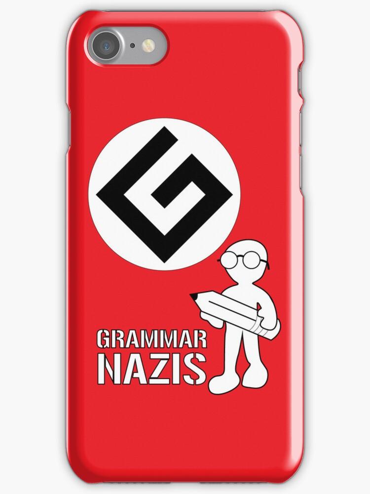 Grammar Nazi Nerd case by DLManiac