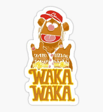 waka waka flame Sticker