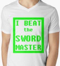 I Beat the Sword Master Men's V-Neck T-Shirt