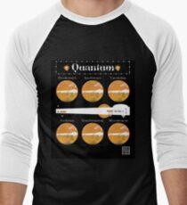 """""""Sheldon Trägt Quantum - ORANGE"""" © Baseballshirt für Männer"""