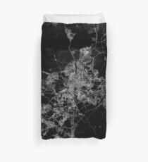 Madrid map Spain Duvet Cover