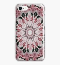Rococo red Rosette- R102 iPhone Case/Skin