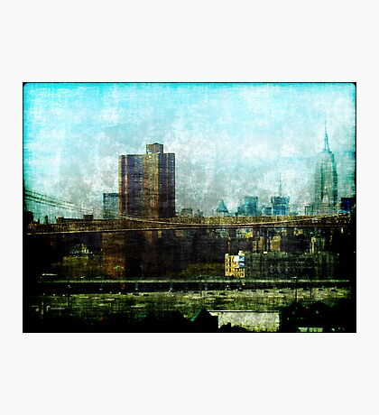 Manhattan View Photographic Print