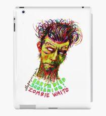 Zombie Waits iPad Case/Skin