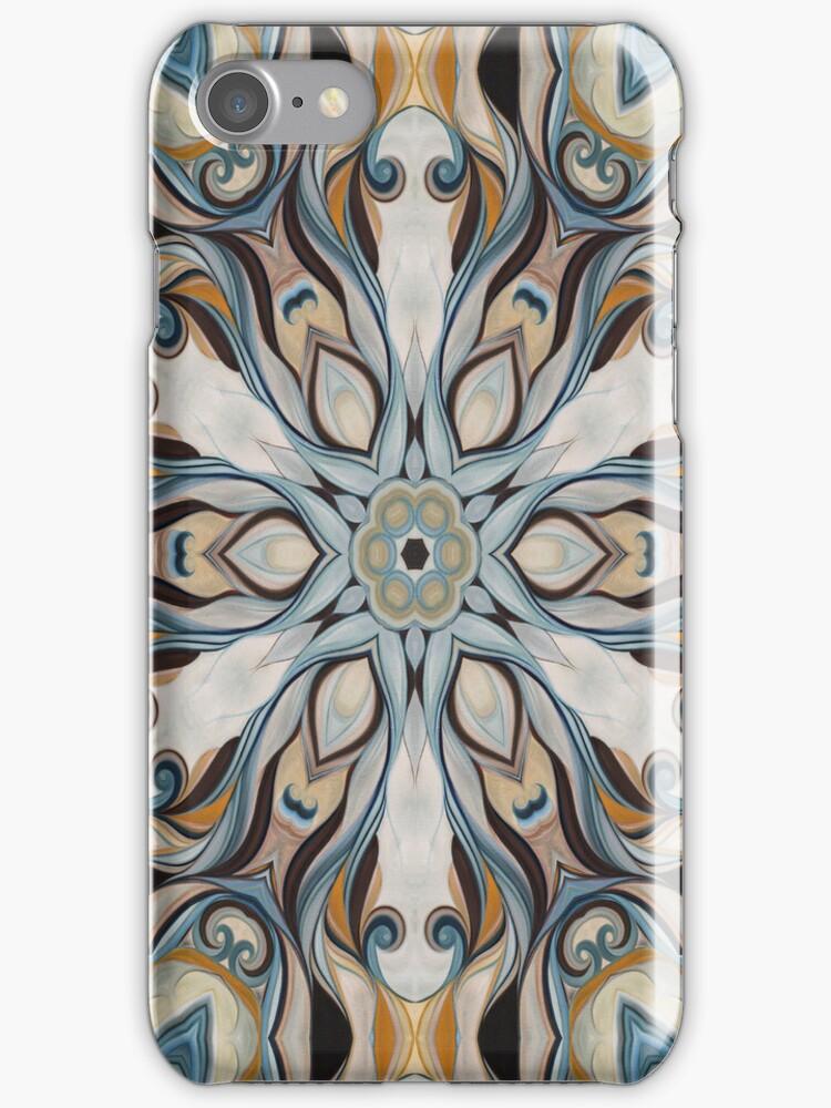 Baroque Earth tones Rosette- R107 by Heidivaught