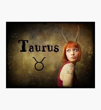 Taurus Photographic Print