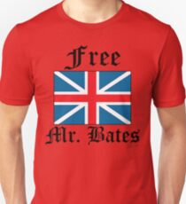 Free Mr. Bates Unisex T-Shirt