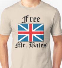 Free Mr. Bates Unisex T-Shirt