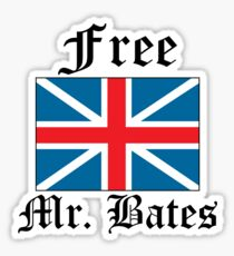 Free Mr. Bates Sticker