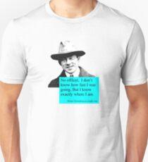 Uncertain Heisenberg at a traffic stop Unisex T-Shirt