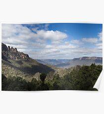 The Blue Mountains - Katoomba Poster