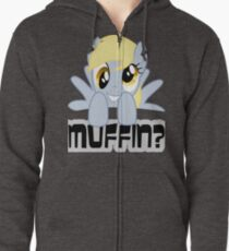Derpy Hooves - Muffin? Zipped Hoodie