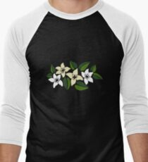 Tropical Flowers 2 Men's Baseball ¾ T-Shirt