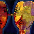 Our Masks Connect Us by Jeff Burgess