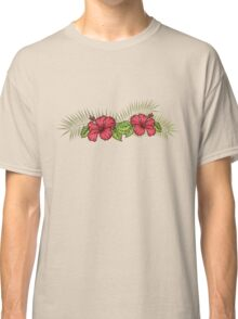 Hibiscus and Palms 1 Classic T-Shirt