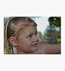 California Blond Photographic Print