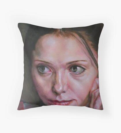 Pascale Morneau Throw Pillow