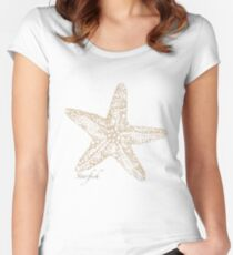 Starfish   Women's Fitted Scoop T-Shirt