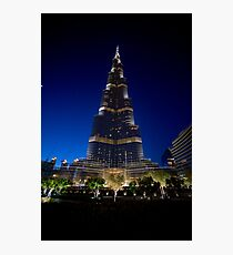 Burj Khalifa After Dark Photographic Print
