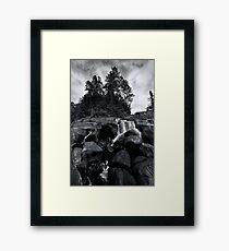 Mclarens pine ridge Framed Print
