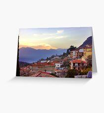 Sunshine Over Delphi Greeting Card