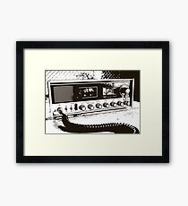 Classic Radio Framed Print