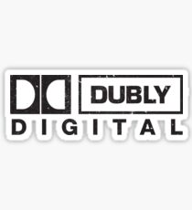 Spinal Tap - Dubly Digital Sticker