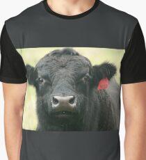Black angus bull Graphic T-Shirt