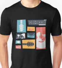 Guitar Collage Unisex T-Shirt