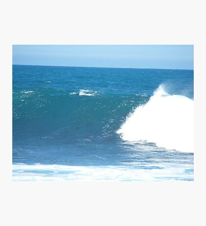 The harmony of the waves Photographic Print