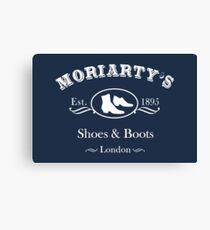 Moriarty's Shoe Shop Canvas Print