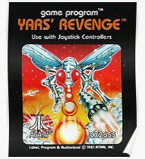 Yars' Revenge Cartridge Artwork Poster
